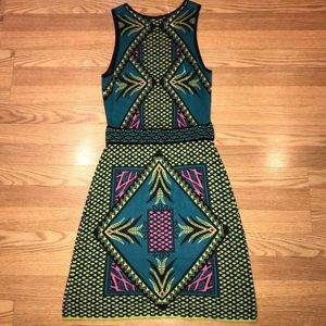 Gianni Bini geometric tribal sweater dress M